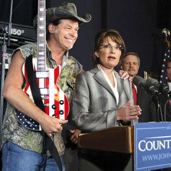 Ted Nugent Sarah Palin