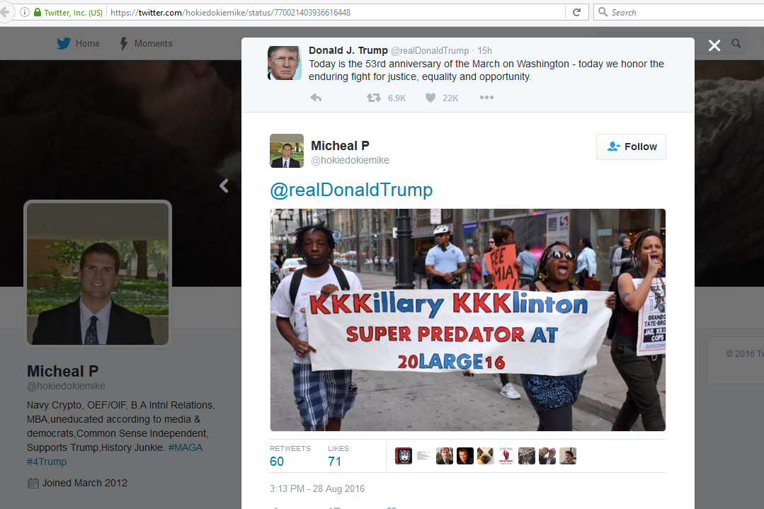 Trump Racist Fans