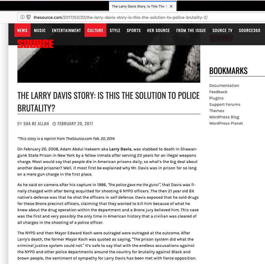 The Source abetting organized fraud